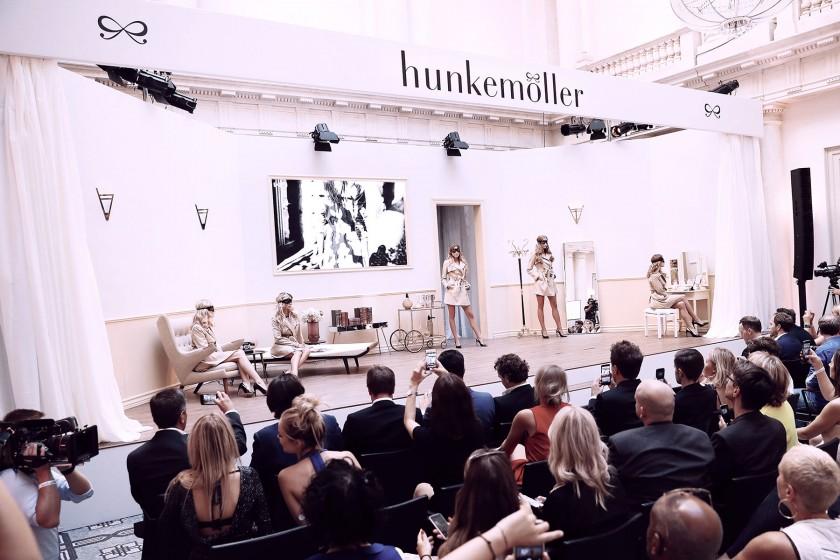 StudioNOW, Hunkemöller, underwear, Doutzen Kroes, Zoë Price-Smith, Berlin, Hotel de Rome, Stage, Stagedesign