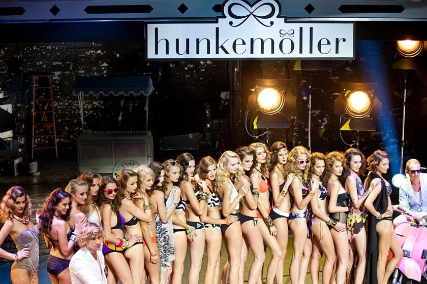 StudioNOW, Hunkemöller, underwear, Unterwäsche, Sylvie van der Vaart, Raphael van der Vaart, Carolina Vera, Catwalk, Laufsteg, Models, Fashion Week, Berlin