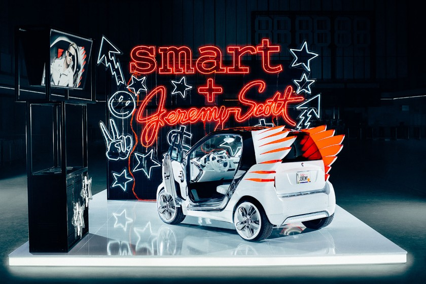 StudioNOW, Smart, Jeremy Scott, Showcar, Inszenierung, Mercedes, Mercedes-Benz, Fashion Week