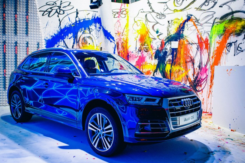 StudioNOW, audi, q5, premiere, Audi q5, auto, auto-city, Anton Unai, Art, Color, colorful, paint